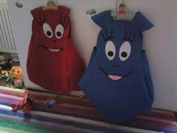 vestiti di carnevale in feltro