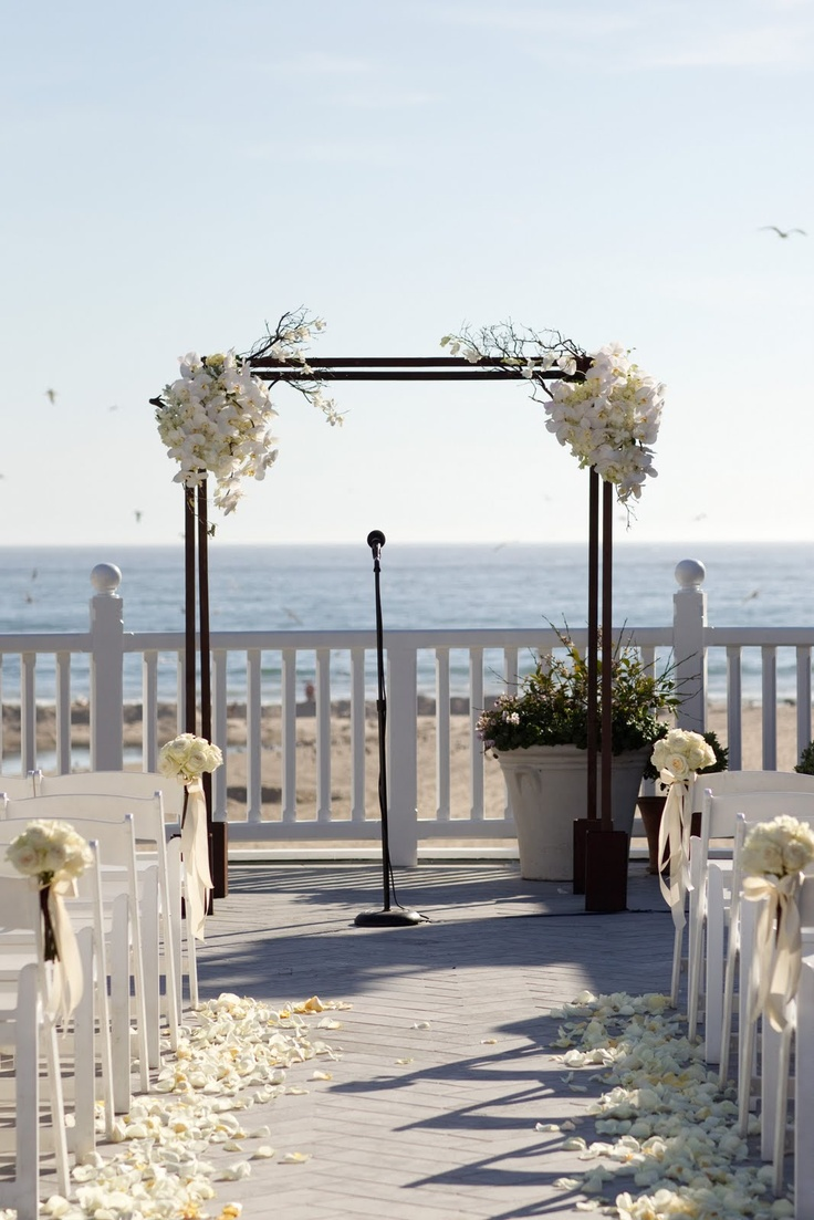 simple wooden arch