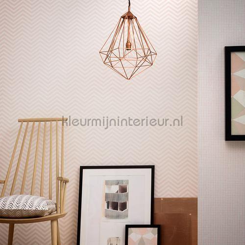Zig zag behang 341392 Scandinavian Style AS Creation