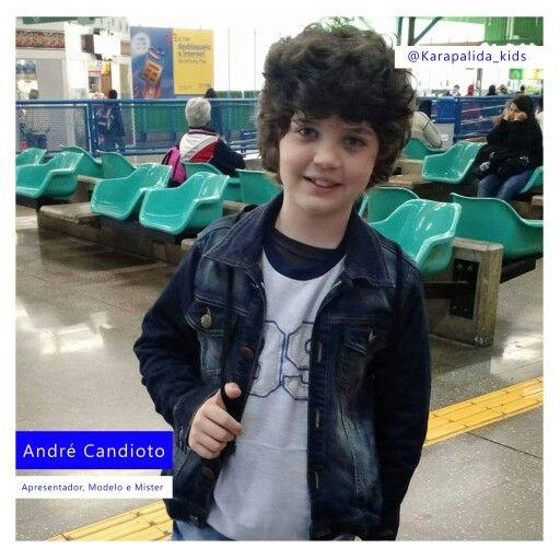 Para encarar o friozinho de São Paulo, André Candioto escolheu um look da Karapalida!   #karapalida #eleusa #kids #inverno2016