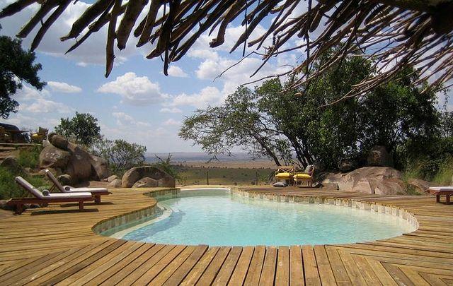 Lamai Serengeti swimming pool by Nomad Tanzania InHouse Library, via Flickr