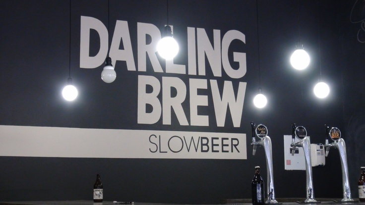 Darling Brew Tasting Room, run by Kevin and Philippa Wood. Philippa was quite an inspiration, having just arrived back in Darling after running the Two Oceans Half Marathon in the cold and rain. Thanks for getting back in time to tell us your story!