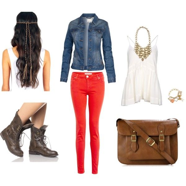 Military boots outfit 2
