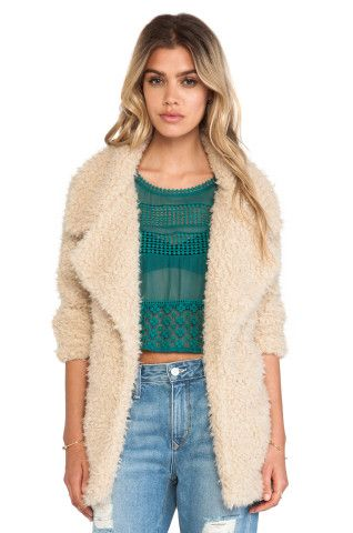 Tularosa Violet Faux Shag Coat in Cream from REVOLVEclothing, How would you style this? http://keep.com/tularosa-violet-faux-shag-coat-in-cream-from-revolvecloth-by-washnews/k/2v5Y-KABE9/