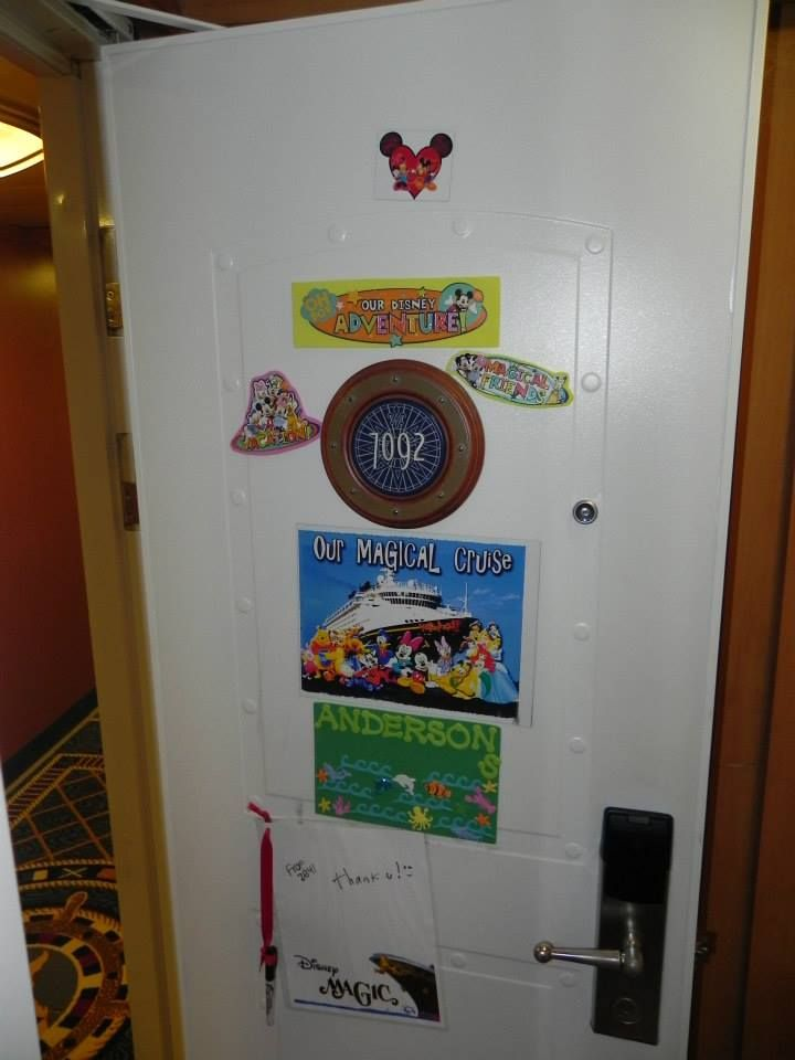 22 best Cruise Door Decorations images on Pinterest ...