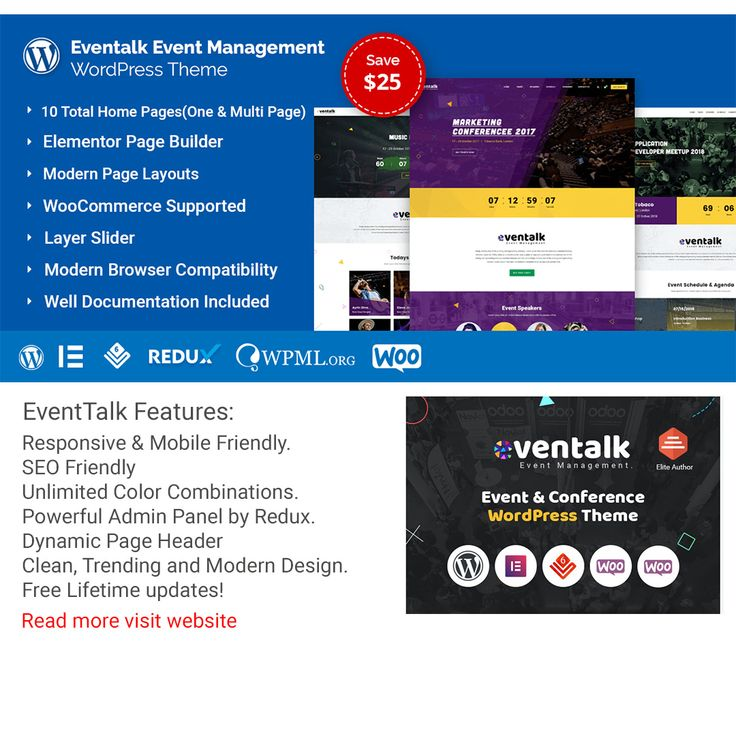 #Event & #Conference #WordPress #Theme #website #php #css #h