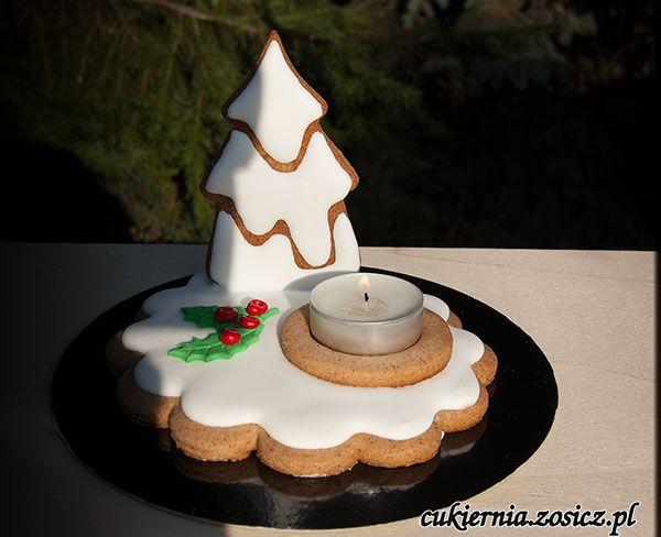 gingerbread candlestick