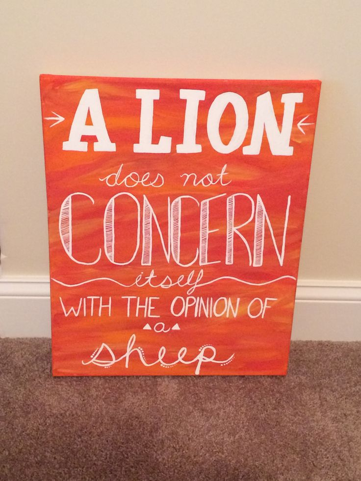 "Phi Mu canvas, sorority canvas, big little gift, hand painted, quote on canvas, ""a lion does not concern itself with the opinion of a sheep"""