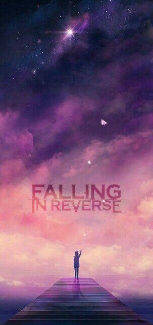 Esse wallpaper foi editado por mim, è sobre a banda FALLING IN REVERSE, em homenagem ao novo album COMING HOME escolhi esse fundo de galaxia, e a estrela significa p mim q sempre estaremos perto.