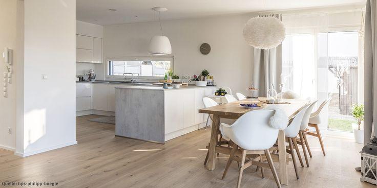 Küche und Esszimmer – Kundenhaus WeberHaus
