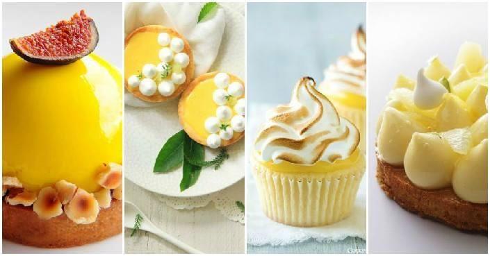 Seleção das mais belas e exóticas tortas de limão fixadas no Pinterest