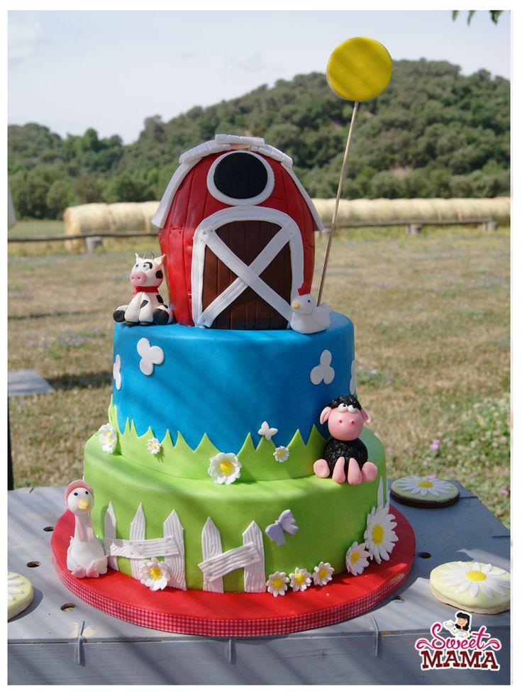 Las 25 mejores ideas sobre tartas de animales de granja - Ideas fiesta inauguracion piso ...