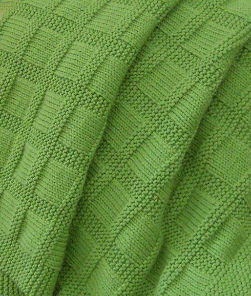 Resultado de imagen para knitting baby blanket with design
