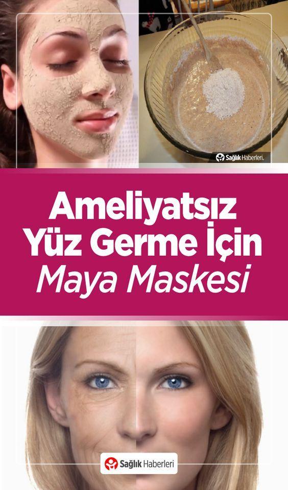 Maya Maskesi İle Ameliyatsız Yüz Germe!