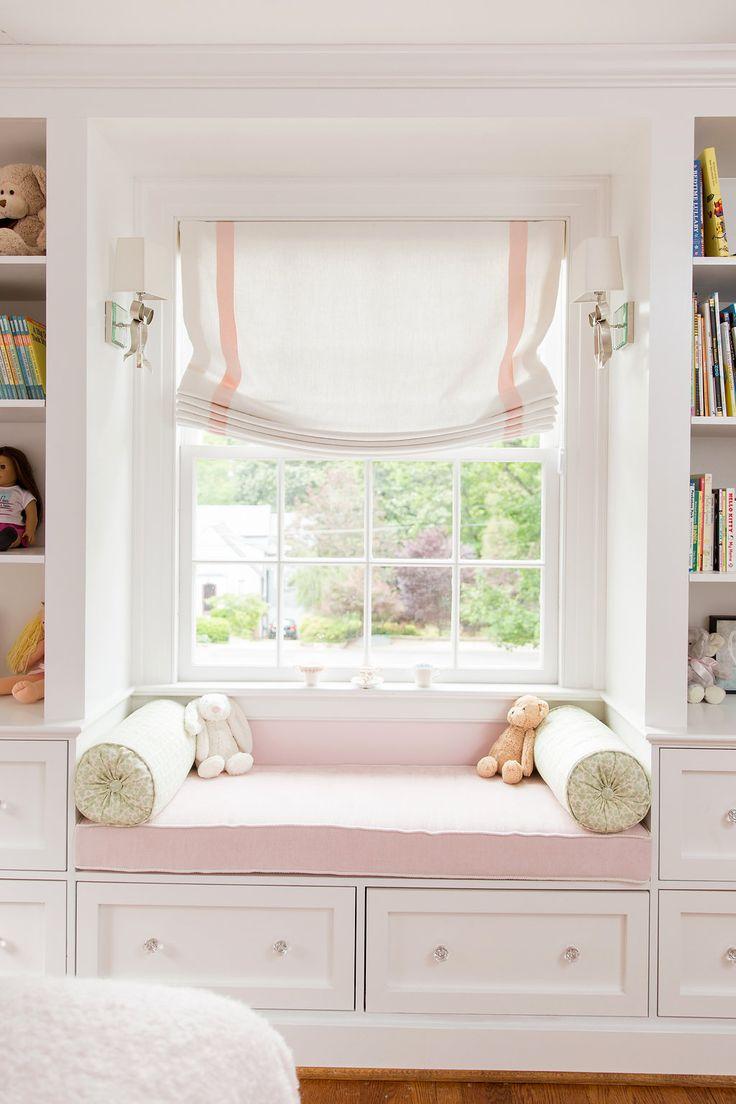 Pretty Pink Window Seat By Debra Zinn Interiors Chapel