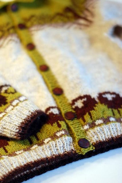 Sheep heid cardigan   ~from hat to cardigan~