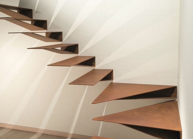 33 best escaleras de dise o images on pinterest stairs for Diseno escaleras