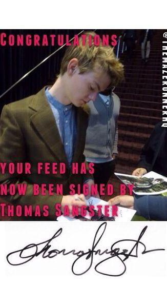 Thomas Sangster!!