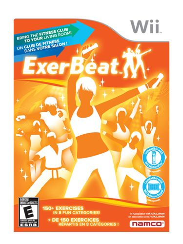 If you're the competitive type, you'll like the point system integrated into ExerBeat for Nintendo Wii. With a Wiimote in each hand, players follow the dance moves of on-screen instructors for choreographed workouts.
