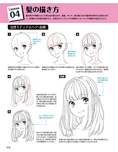 Draw with digital tools! How to draw hair to complement characters   Studio / Hard Deluxe   Books   mail order   Amazon