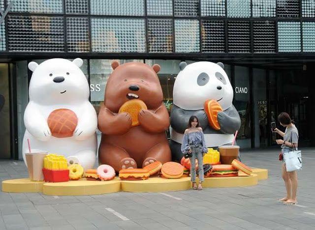 Resultado de imagen para dibujos kawaii de los 3 osos de cartoon network