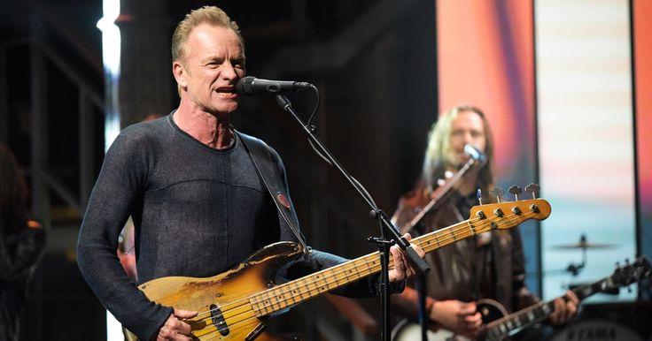 Watch Sting Talk Meditating in New York, Return to Rock on 'Colbert' #headphones #music #headphones