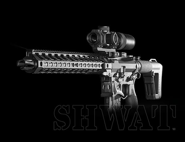 Custom .458 SOCOM AR-15