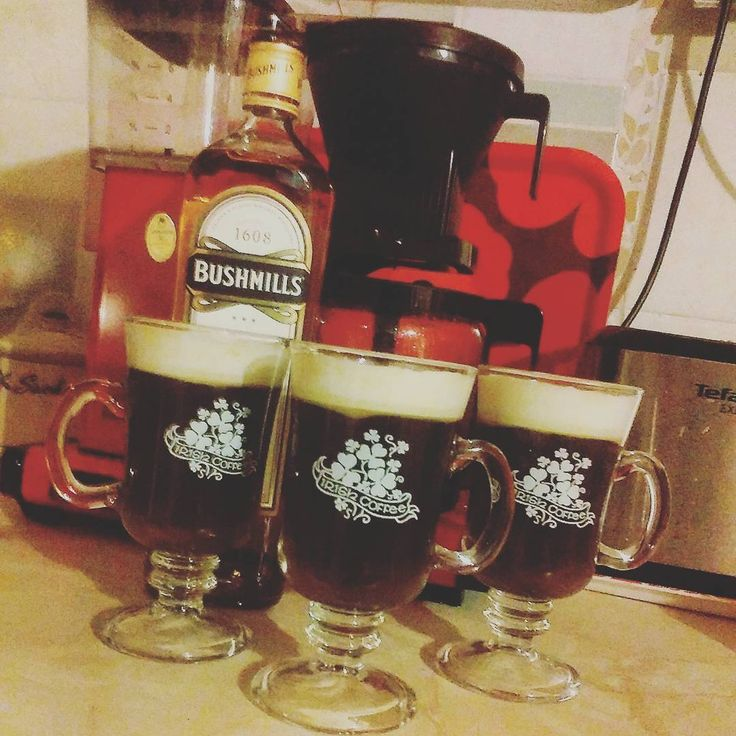 Yuletide morning coffees, keeps you going!!! ☕☺👍  .  .  #finland #irishcoffee #bushmills #1608 #kitchen #ineedthis #coffee #weareinfinland #irish #instalike #instabrew #filterbrewedcoffee #moccamaster #coffeeconsumers #biginfinland #kaffe #coffeelovers #ststephensday #tuesday #whiskey #irishwhiskey #morningcoffee #hyväähuomenta #godmorgon #goodmorning #maidinmhaith #juhlamocca #boozagram