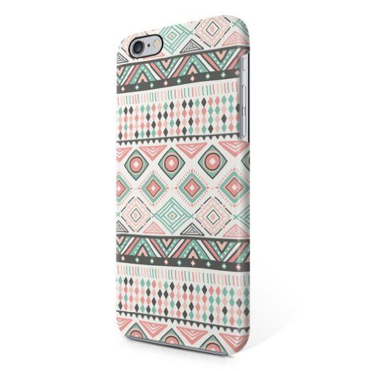 Indie Aztec Tribal Mosaic Rad Boho Hipster Pattern Hard Plastic iPhone6 iPhone 6S Phone Case Cover
