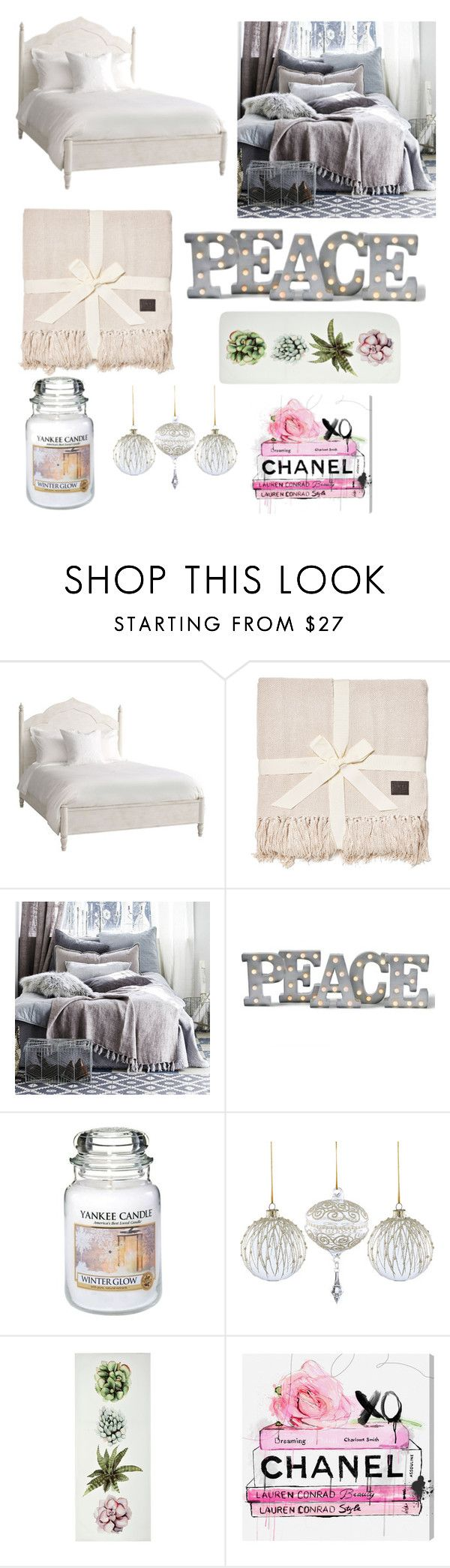 """""""Untitled #17"""" by kylie-cardinali on Polyvore featuring interior, interiors, interior design, home, home decor, interior decorating, Burke Decor, UGG, Grandin Road and Yankee Candle"""