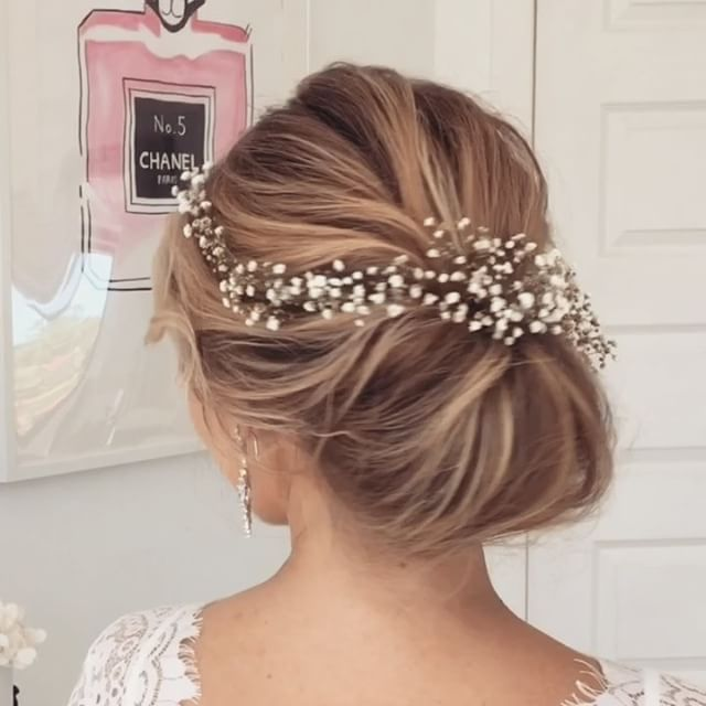 Best 20 Simple Wedding Updo Ideas On Pinterest