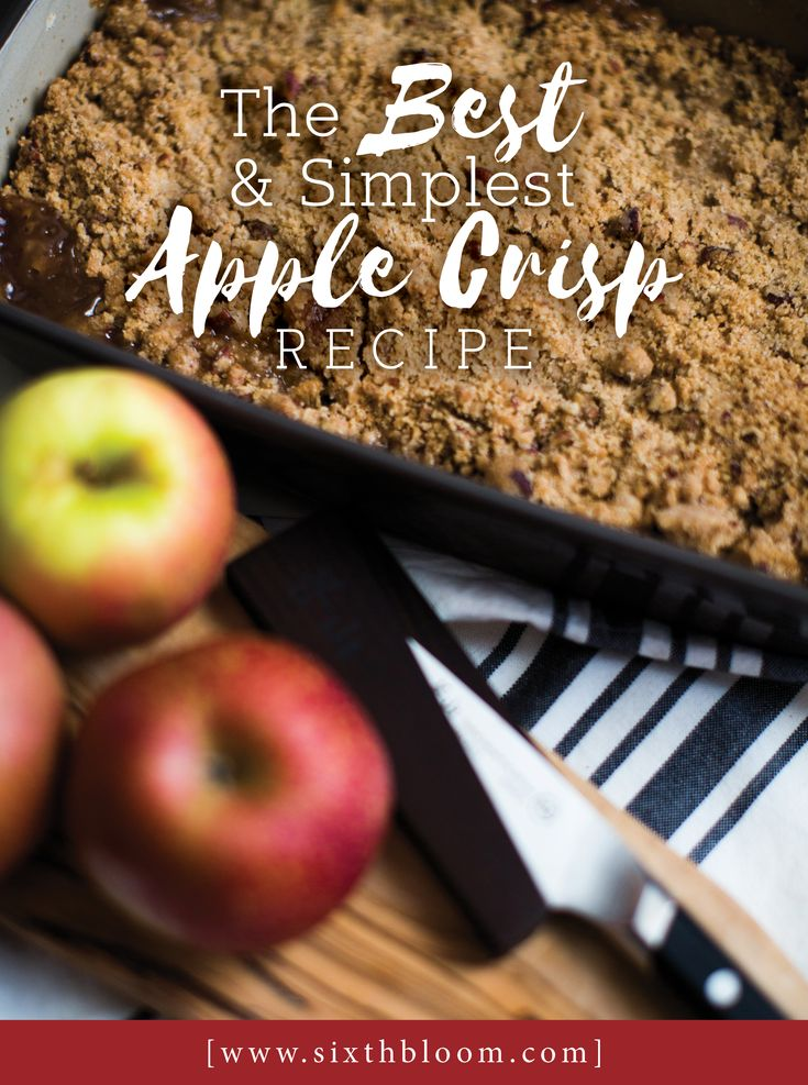 Apple Crisp Recipe, recipe, apple recipe