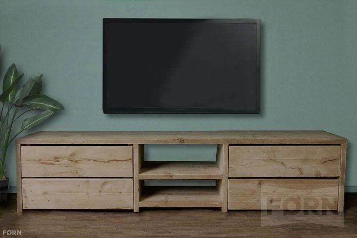 tv meubel van steigerhout - Google zoeken
