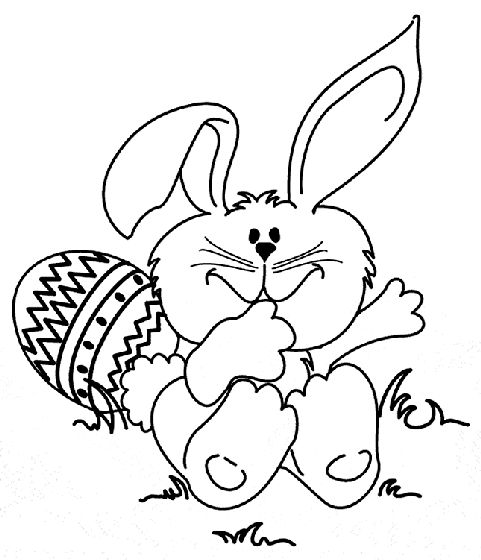 Check Out This Easter Bunny Coloring Page Your Elementary Students Will Love For A Fun Spring