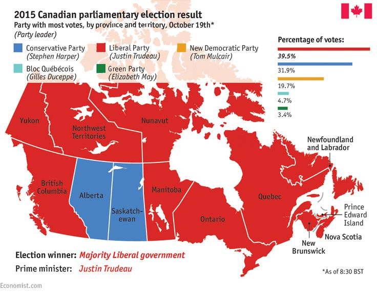 Canada: 2015 federal election guide Election result2015201120082006PartiesConservative PartyLiberal PartyNew Democratic PartyBloc QuébécoisGreen Party...