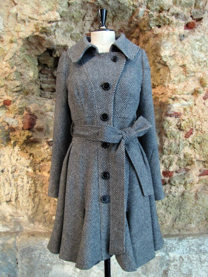 Fog Robe by Storytailors, TIME (LESS) collection FW 2011