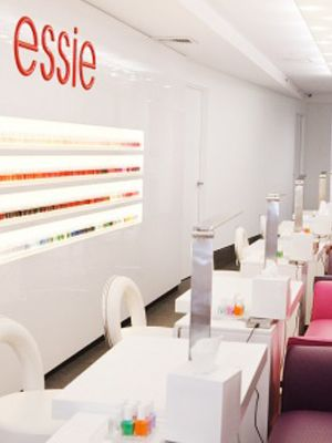 Oh Happy day!!!   I would go get my nails done here! #EmmaGraham #WeekendWonderland The Essie Flagship Nail Salon