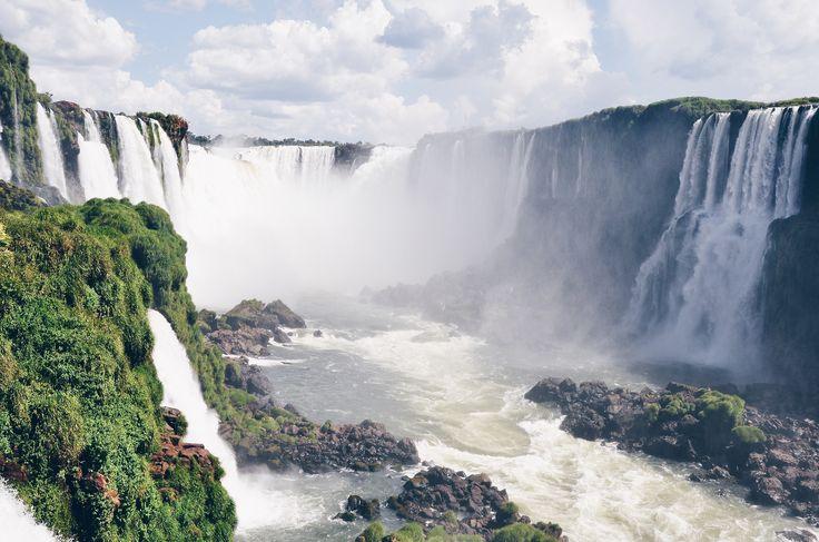 Iguazu falls (Brasil, Argentina)