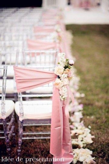 Noeud de chaise en Coton - Lucy Jeanne Collection - Décoration de Mariage