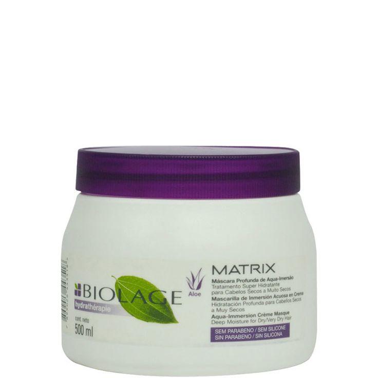matrix biolage hydrathérapie máscara profunda de aqua-imersão - tratamento 500g