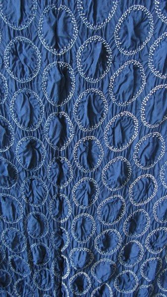 Bandhini refers to the technique of crafting patterned textiles by revisiting parts of a fabric by tying knots on it before it is dyed. Jabbar Khatri – The Center for Craft, Creativity & Design