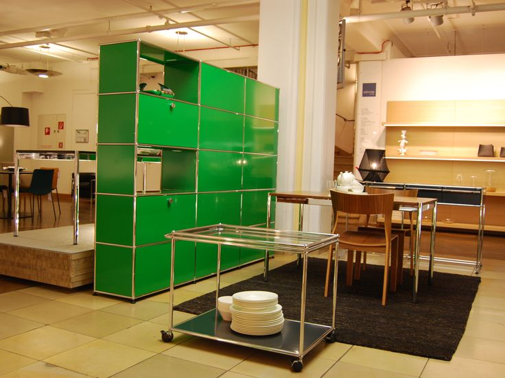 modular furniture by usm exhibition at b hmler im tal munich germany the green zone