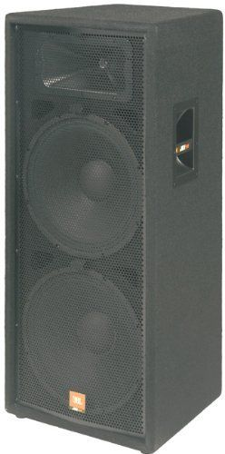 JBL JRX125 Dual 15 Inch 2 Way Speaker Cabinet 500 Watt Continuous 2000 Watt Peak by JBL. $499.00. Dual 15 inch speaker systems have become one of the most popular configurations with DJs and musicians who are looking for more low-frequency performance while maintaining the simplicity of a single-box system. The JRX125 is actually a quasi three-way design. This means that the upper woofer covers lows and mids. The bottom woofer uses a lower crossover frequency and covers...