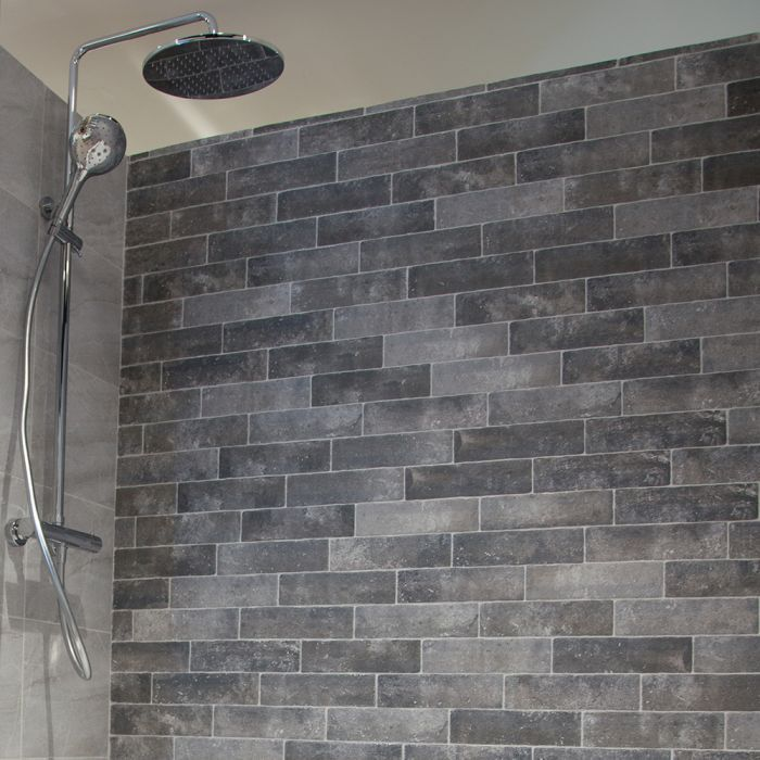 Brick Slips Brick Tiles Are Suitable For Internal And External Space In 2020 Brick Effect Tiles Brick Bathroom Wall Tile