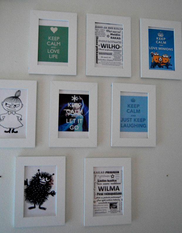 DIY easy decorative idea to kidsroom