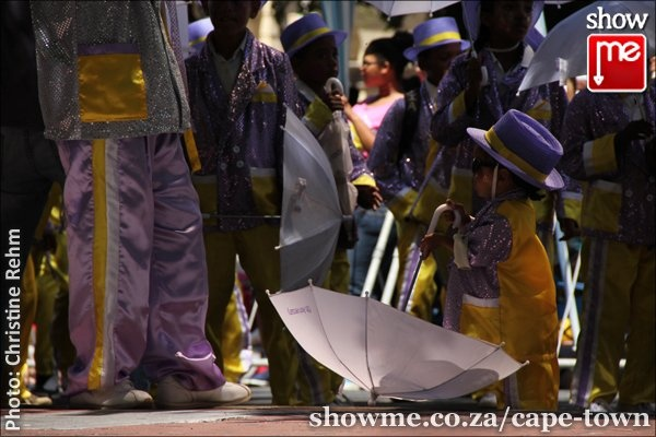Cape Town Kaapse Klopse Minstrel Carnival on 02 Jan 2013