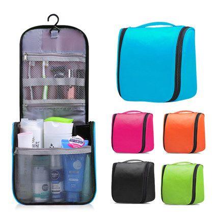 Upgrade large Ladies Wash Bag Toilet Bag Hanging  Makeup Bag 1pcs 8 candy colors waterproof wear-resisting  free shipping 13547