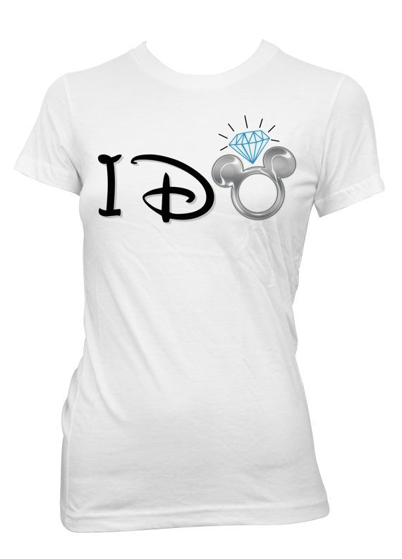 Disney Bride I Do IronOn Transfer by PopCreativeDesigns on Etsy, $5.00