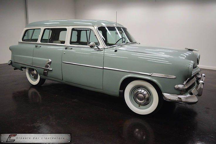 1953 Ford Customline Country Sedan
