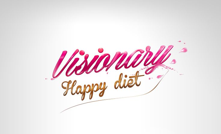Visionary Happy diet - New logo dysign   Agency: Creativehead.info, Artist: Hubert Paderski (webdesigner1921)